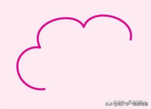 简笔画 美丽的云朵_酷知经验网