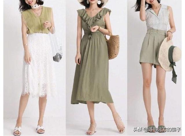 24套30+女性夏季高级感穿搭,清爽又优雅,这配色太可了