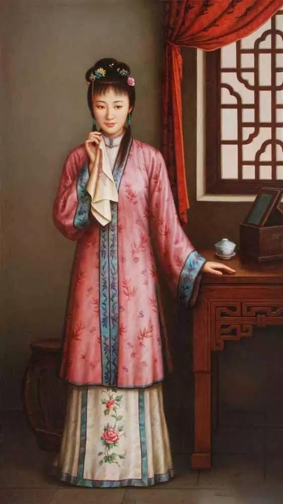 「转载」金陵十二钗油画版