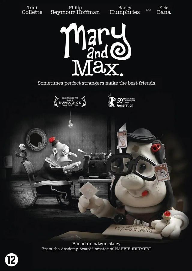《玛丽和马克思》:两个孤独的灵魂碰撞出温情的火花