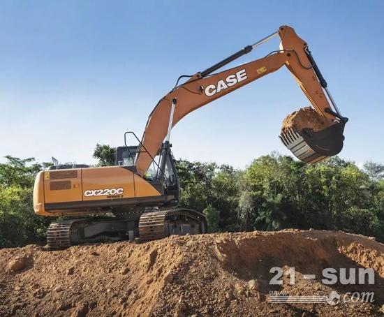 """凯斯CX260C-8挖掘机:""""看到""""未来 解锁更多可能"""