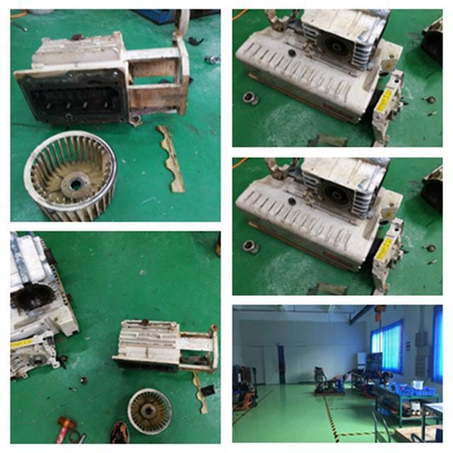 莱宝真空泵维修偏心件的方法和技巧