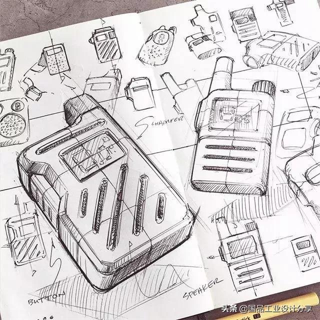 针管笔手绘创意插画,创意了得
