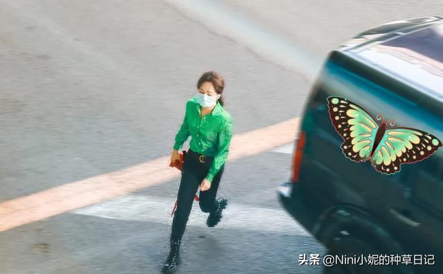 杨紫身穿墨绿色衬衫,越来越有品位,镂空马丁靴,真是孤陋寡闻了