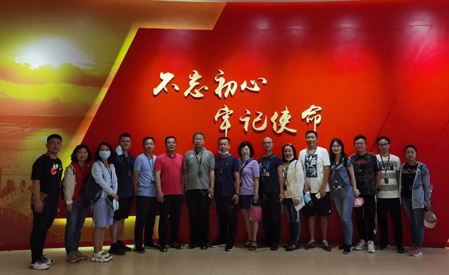 复走西柏坡:平安产险河南分公司党委庆祝建党99周年