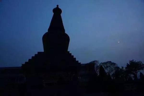 """古太原""""八景之一""""的阿育王塔,全国仅剩的十九座释迦牟尼舍利塔"""