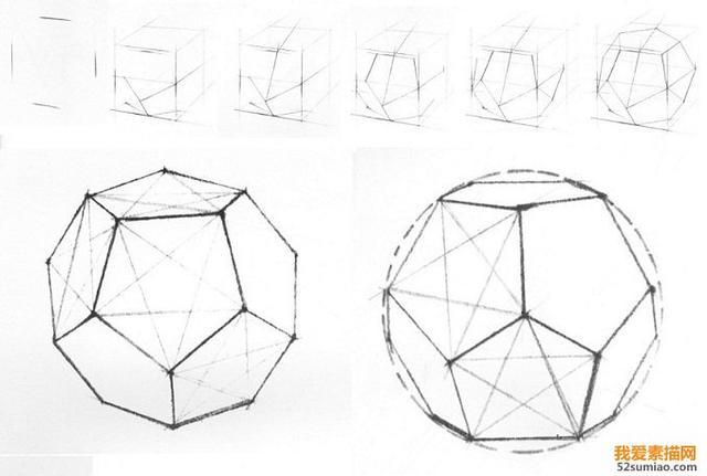 球体的画法:从零开始学素描(19)