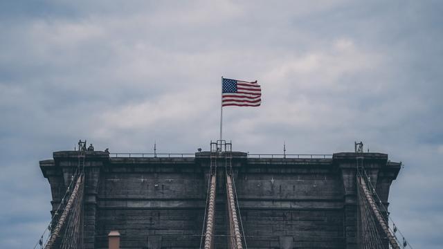 布鲁克林大桥简笔画