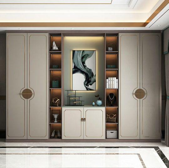 新中式衣柜图片大全