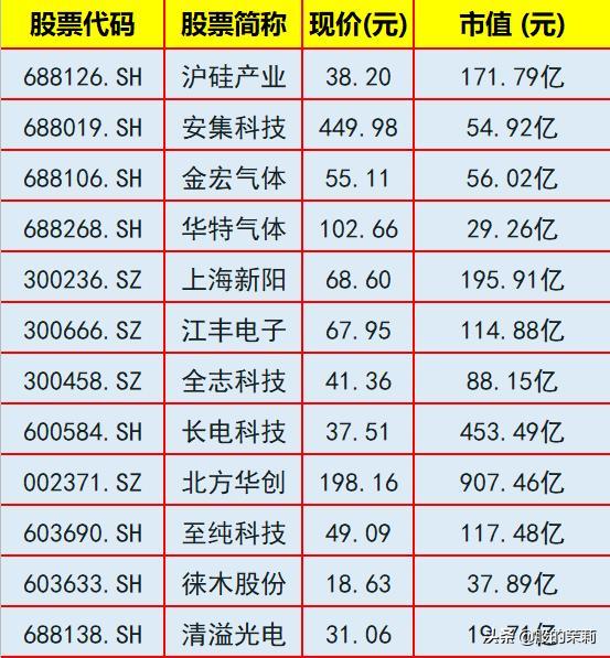 中芯国际坐稳半导体龙头,半导体集体暴涨,24只相关概念股名单