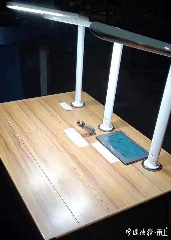写字桌书柜一体