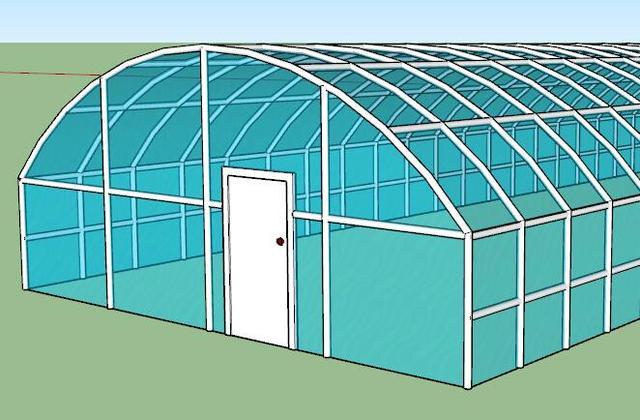 简易蔬菜大棚,也能提高蔬菜种植产量,增加农民经济收入