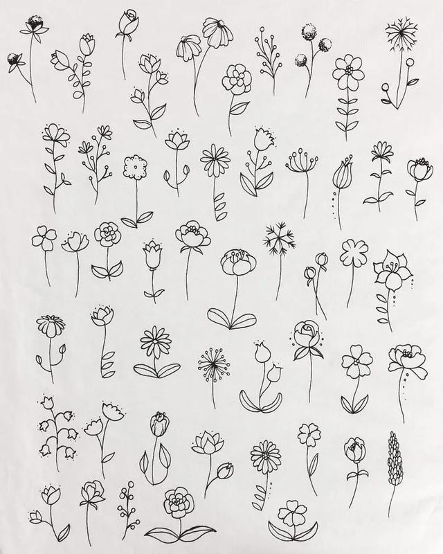 100+手帐素材简笔画,可爱又简单,不怕你不喜欢