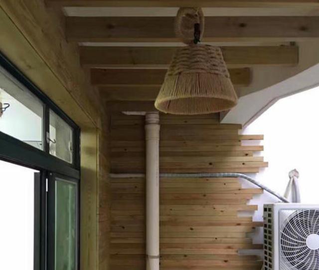 生态木阳台吊顶