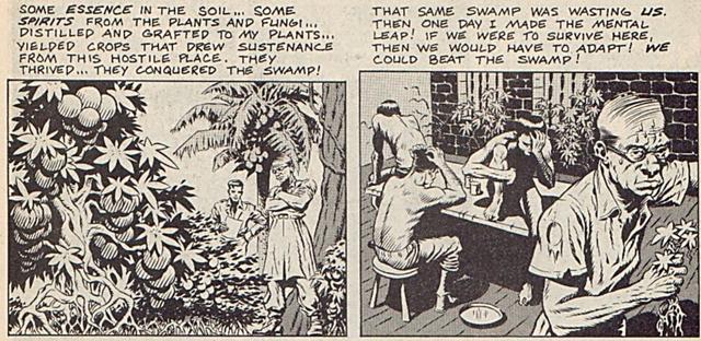 经典游戏《恐龙快打》漫画最阴暗的章节,整个部落被药物变成章鱼