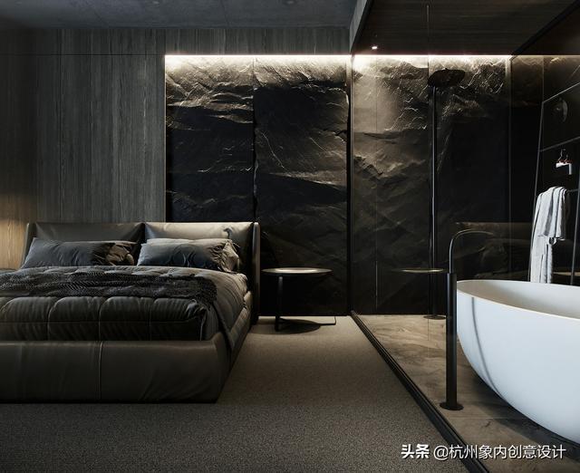 酒店设计 | 迪拜酒店式公寓,酷黑高级感