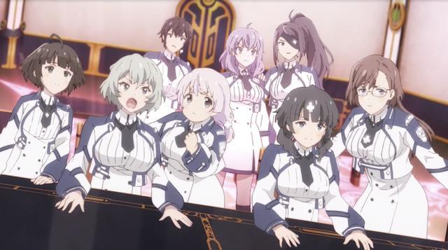 魔王學院:一集收九個妹子,順便攻略一個基友