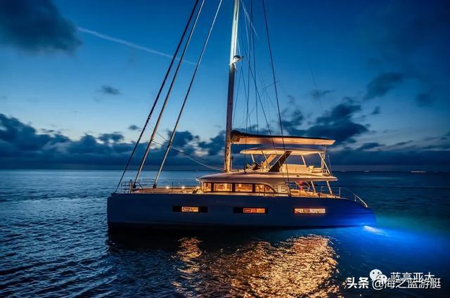 法国蓝高65双体帆船新款将于9月戛纳游艇展全球首发,先睹为快