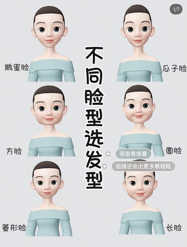 30发型设计与脸型搭配