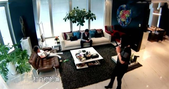华谊总裁王中磊的豪宅!电梯开门直接进户,黑色墙面高冷范十足