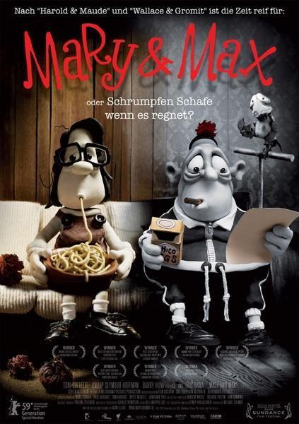 电影《玛丽和马克思》看完后,你绝对控制不住!