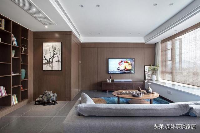 140平方,夫妻两人把家弄得很高级质感十足,整体配色雅致,晒晒