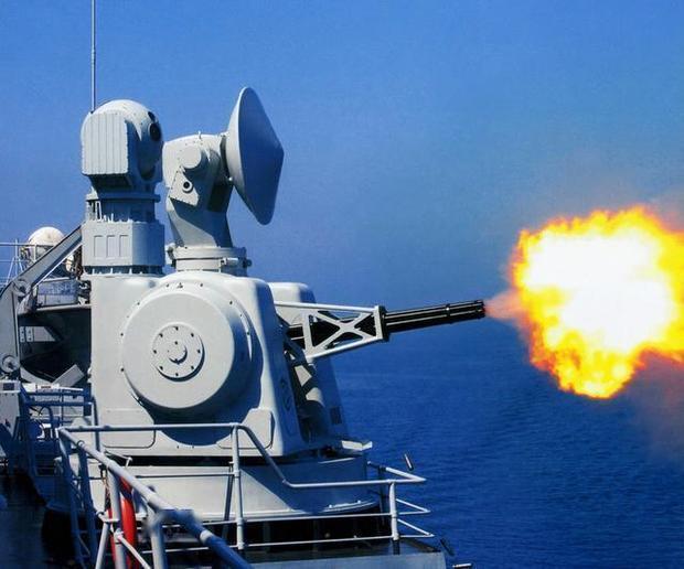 辽宁舰最后时刻才使用的武器,每分钟1.1万发炮弹,堪称绝对防御