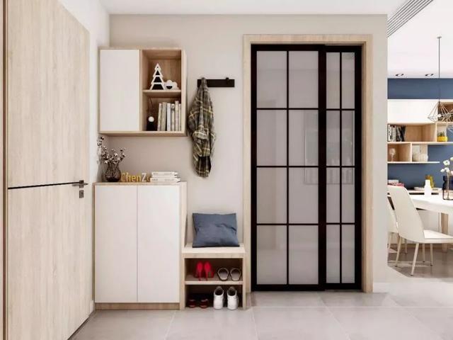 不同户型的玄关柜设计,简直是教科书级别的方案