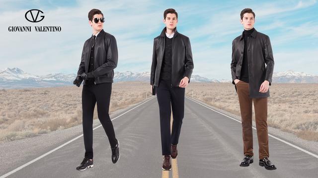 今年流行的中长款皮风衣,帅气有范儿也很时髦
