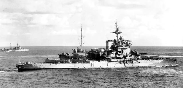 战舰世界英系7级战列,游戏里强的不正常,历史上却是这悲催样