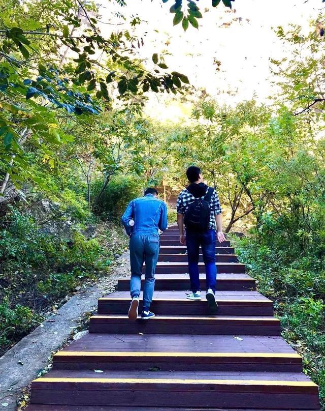 京郊徒步路线推荐之怀柔神堂峪栈道