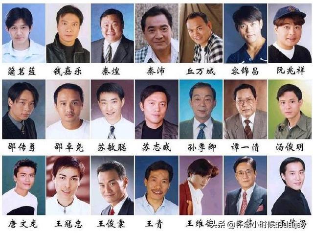 香港男明星头像