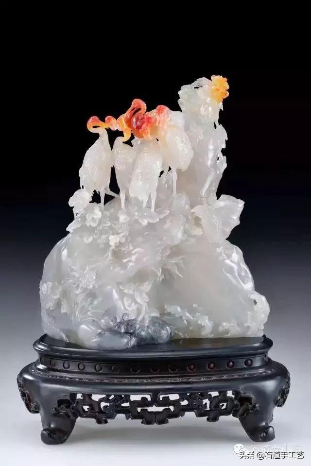 寿山石雕刻艺术作品,很棒的作品