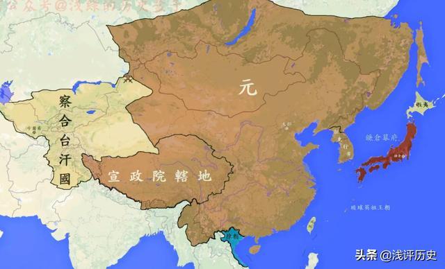 清朝地图1911