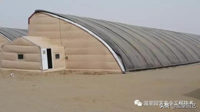 冬暖式日光温室大棚工程设计图纸-工农业建筑图纸-沐风网