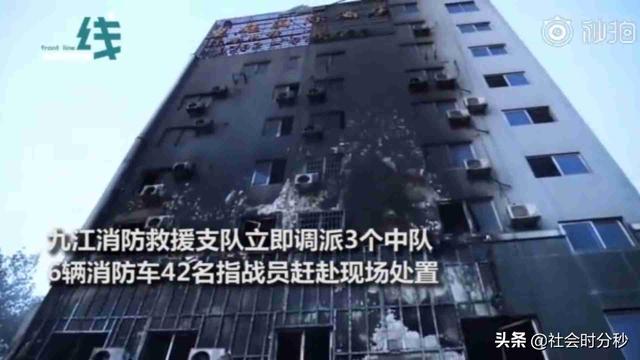 饭吃一半就出警 火场内敲72个房间疏散16人 98年消防员当场累吐-第5张图片