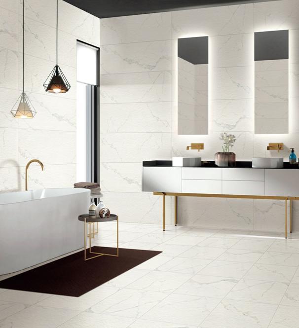 新时代的瓷砖宠儿:圣马力亚中板瓷砖