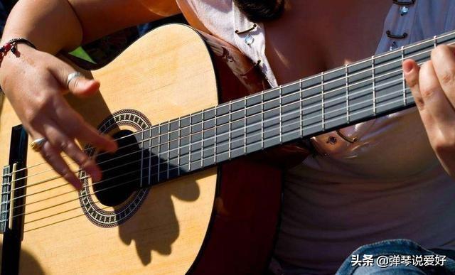 吉他1234567口诀表