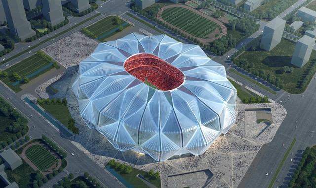 2亿球迷嗨翻!恒大新球场造型出炉堪称绝美