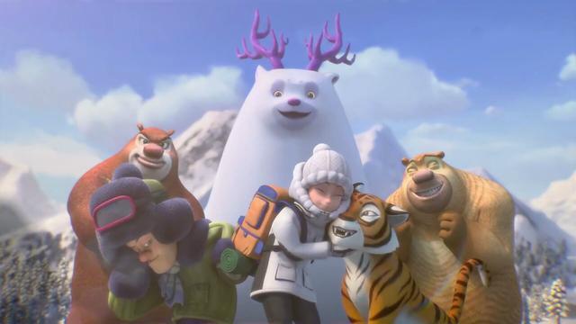 熊出没:团子和熊二很小就认识了,为啥后来再见,... _手机网易网