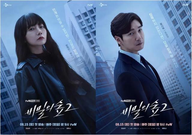 8月开播的韩剧,《秘密森林2》值得期待,金喜善都演周元他妈了