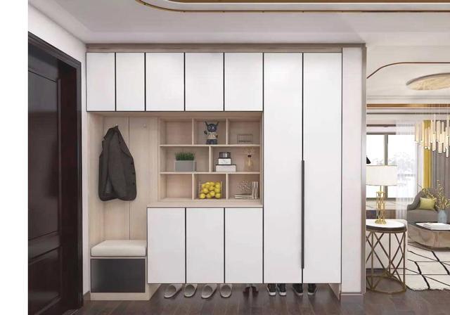入门处玄关柜如何设计才能好看又实用?看完你就懂... _手机搜狐网