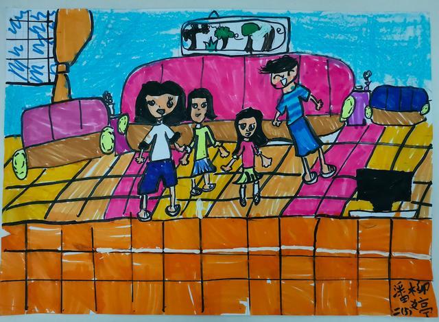 二年级小学生画画大全