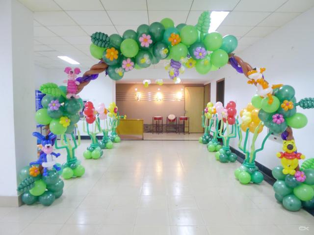 气球在生日宴布置中的重要性你了解多少