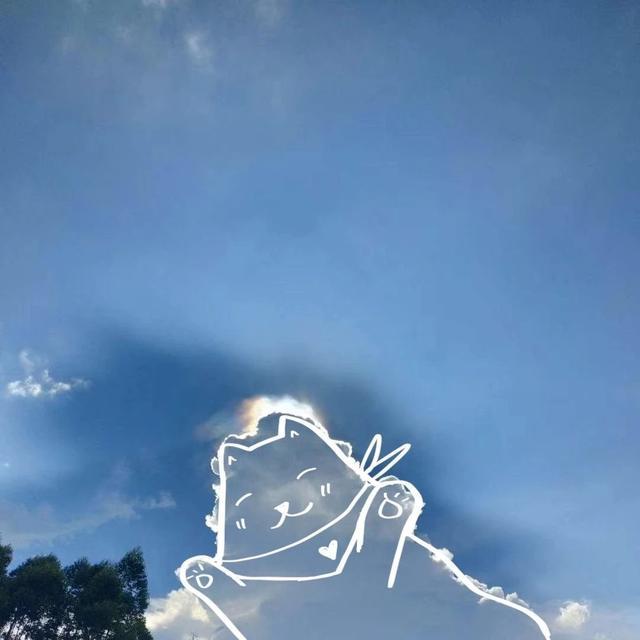 天空背景图蓝天白云