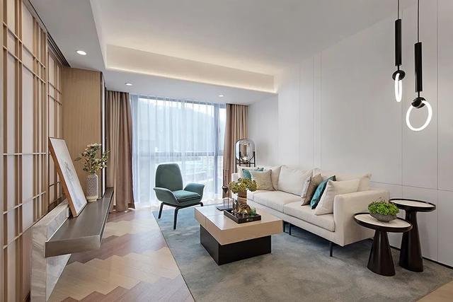 70㎡现代小二房,优雅的小房子,住起来也情趣气质