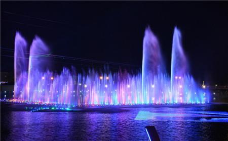 義縣音樂噴泉