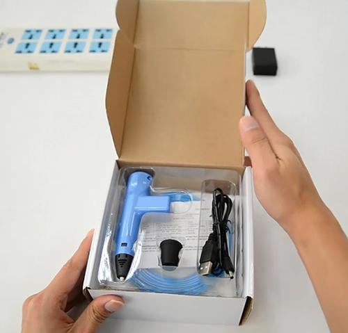 网购回来的3D打印笔开箱试用:功能很强大,很好上手