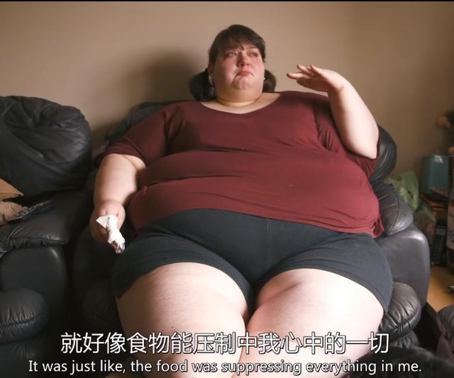 600斤英国胖女人,33岁想做母亲决心减肥,2年减了228斤