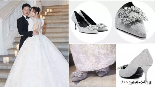 女星婚鞋,林心如全球150双,谢娜的意义非凡,颖儿让人意想不到